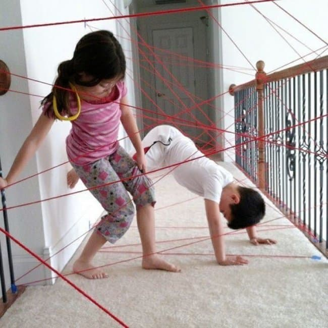How To Keep Kids Entertained yarn lasers