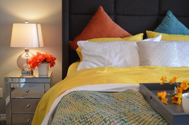 How To Make A Small Bedroom Cozy comfy bed linen