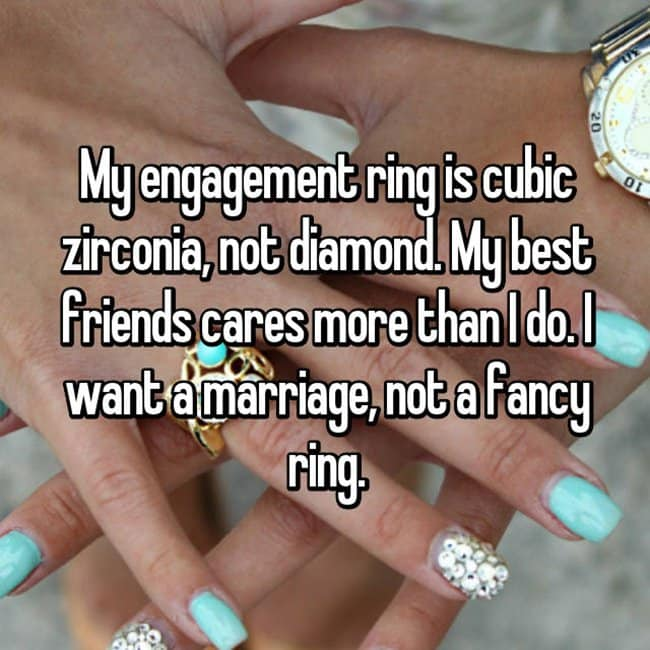 How Women Feel About Fake Engagement Rings i want a marriage