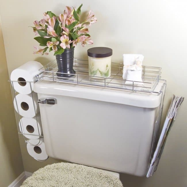 Ideas For Where To Store Things bathroom shelf