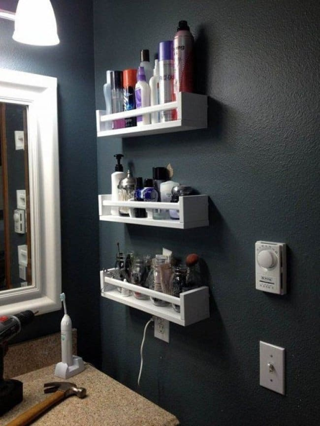 Ideas For Where To Store Things spice rack