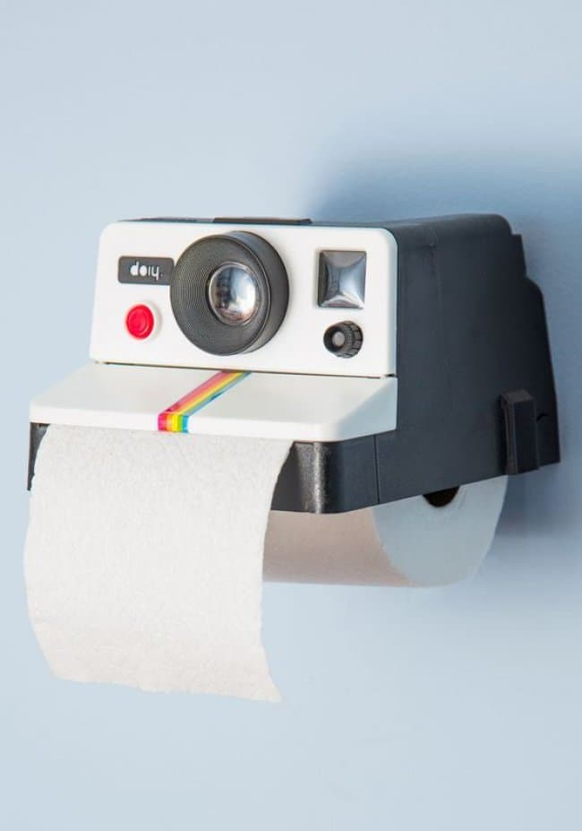 Incredibly Cool Inventions camera toilet roll holder