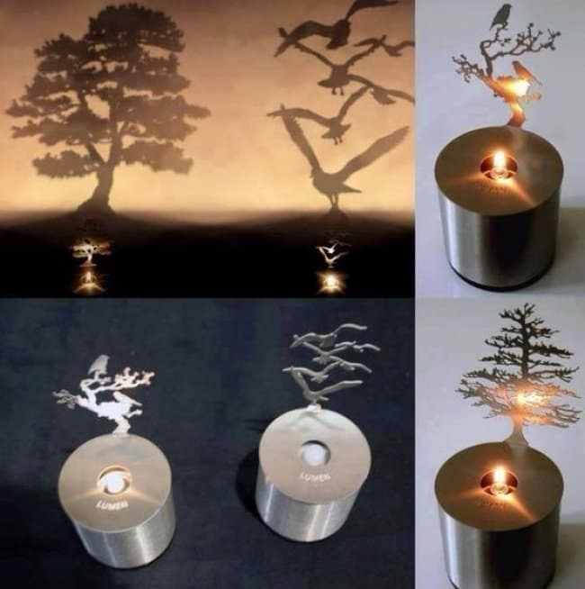 Incredibly Cool Inventions candle shadow art