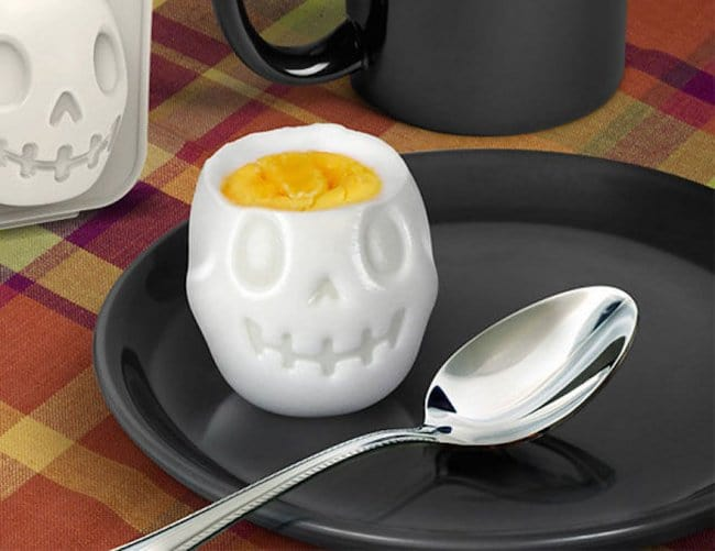 Incredibly Cool Inventions egg mold skull