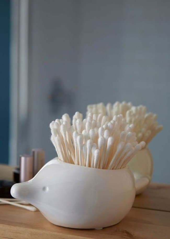 Incredibly Cool Inventions hedgehog q tip holder