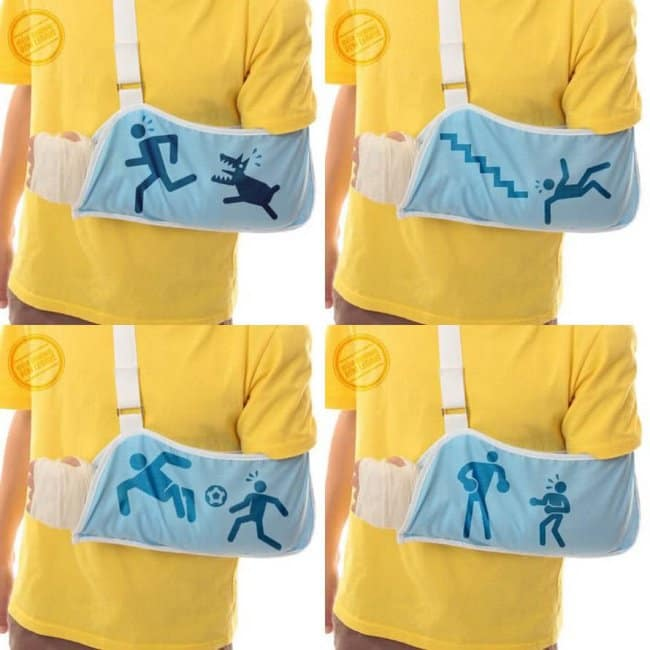 Incredibly Cool Inventions how did you injure your arm sling