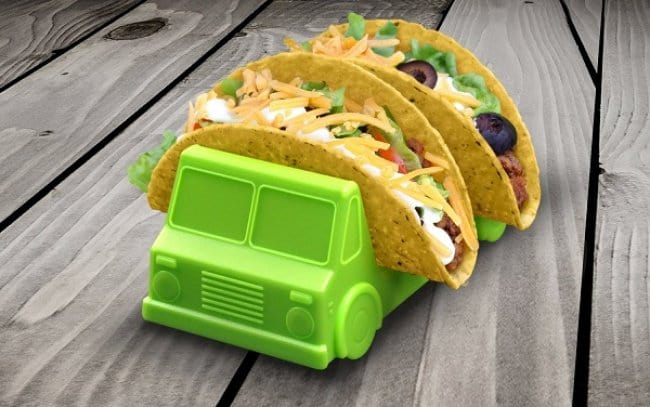 Incredibly Cool Inventions truck taco holder