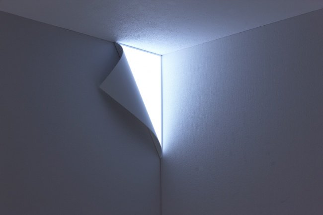 Incredibly Cool Inventions wall light corner peeling