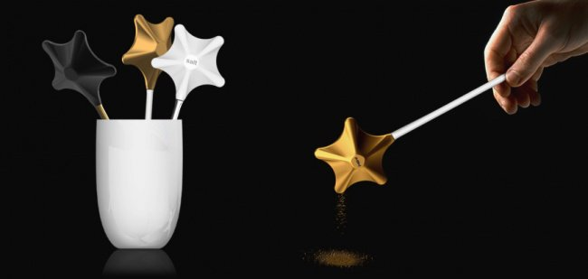 Incredibly Cool Inventions wand salt and pepper shakers