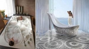 LUXURIOUS BATH TUBS