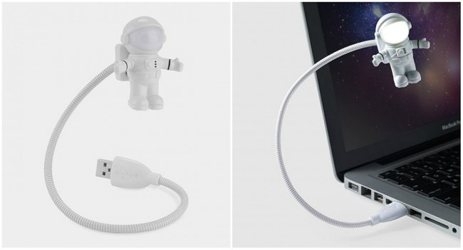 Little Things For Your Workplace astronaut usb light