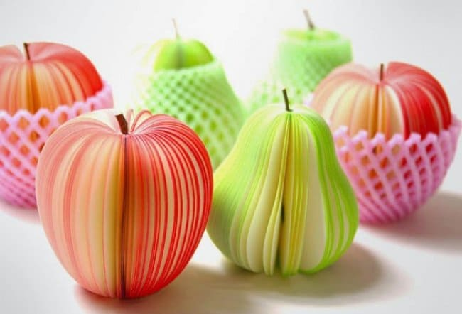Little Things For Your Workplace memo fruit