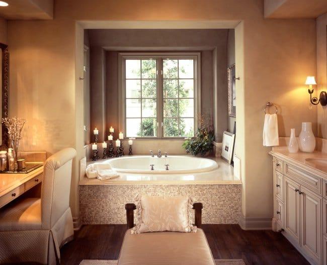 Luxurious Bath Tubs romantic