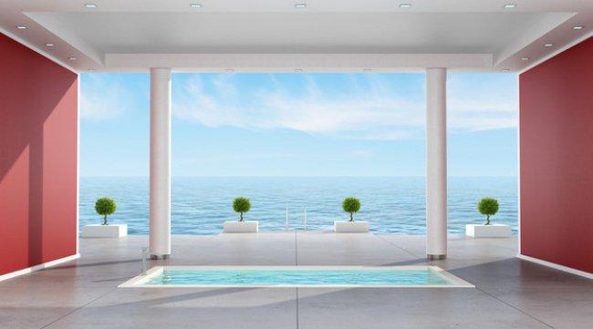 Luxurious Bath Tubs swiming pool