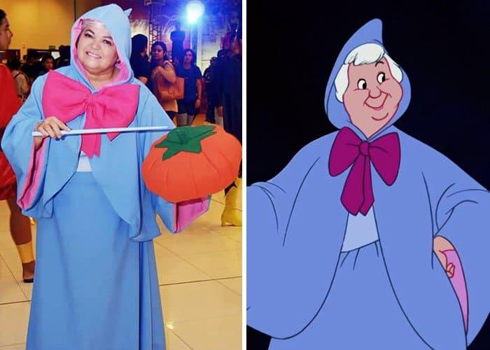 Mom Has Incredible Cosplay Skills fairy godmother cinderella