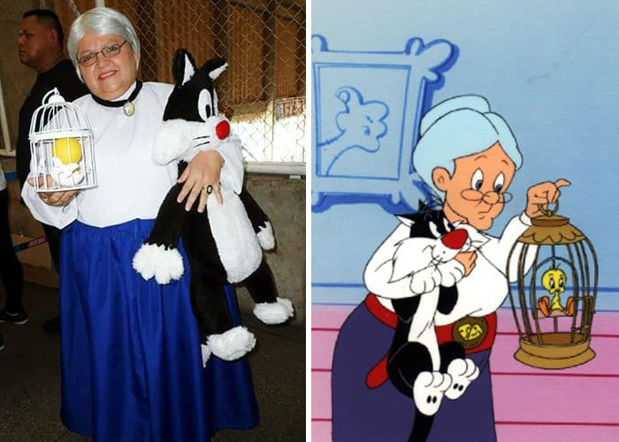 Mom Has Incredible Cosplay Skills granny looney tunes