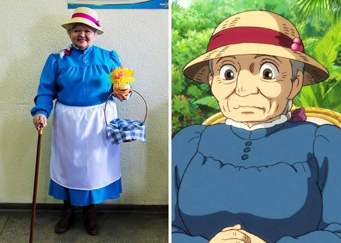 Mom Has Incredible Cosplay Skills sophie hatter howl's moving castle