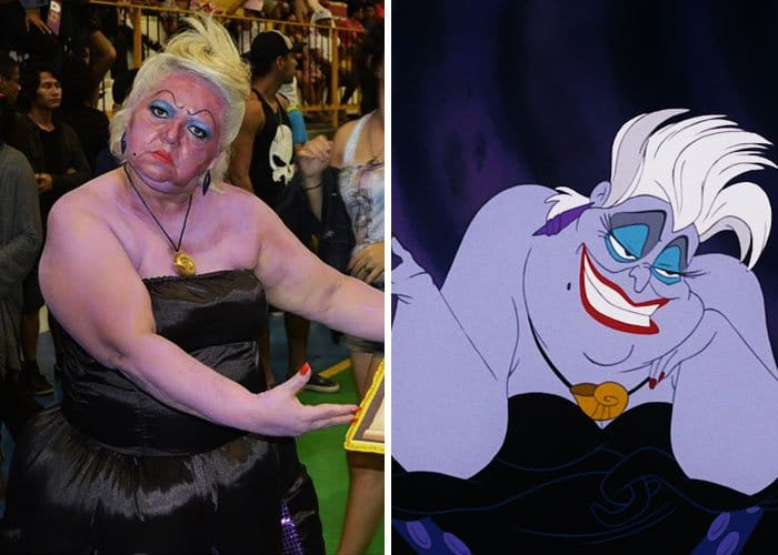Mom Has Incredible Cosplay Skills ursula the little mermaid