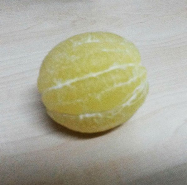 Pictures Of Peeled Fruit lemon