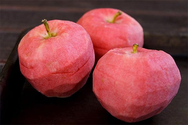 Pictures Of Peeled Fruit pearl apples