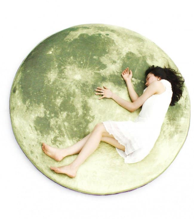 Space Themed Interior Design Ideas full moon mattress
