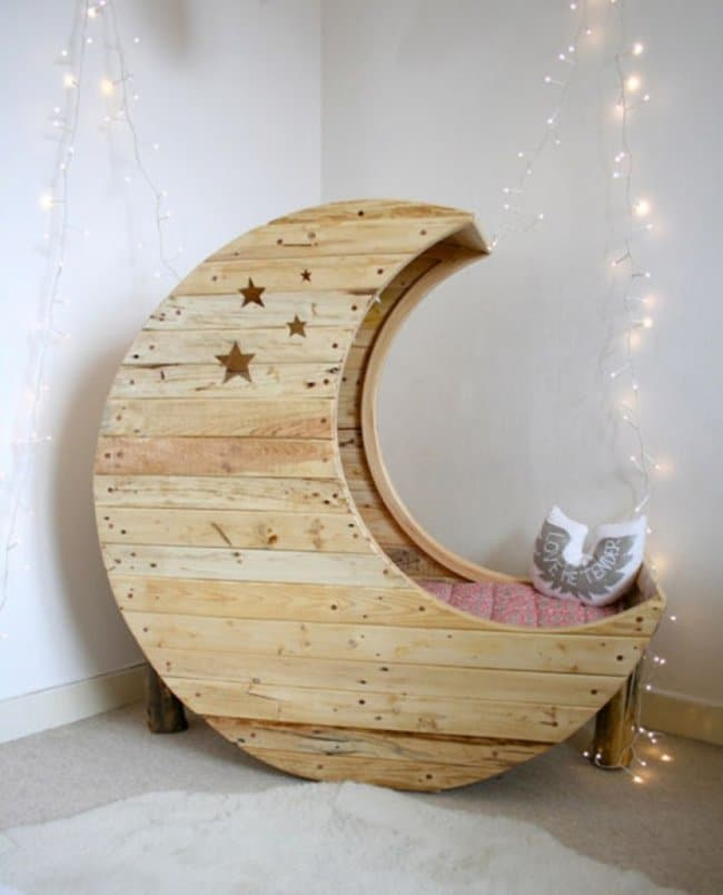 Space Themed Interior Design Ideas half moon chair