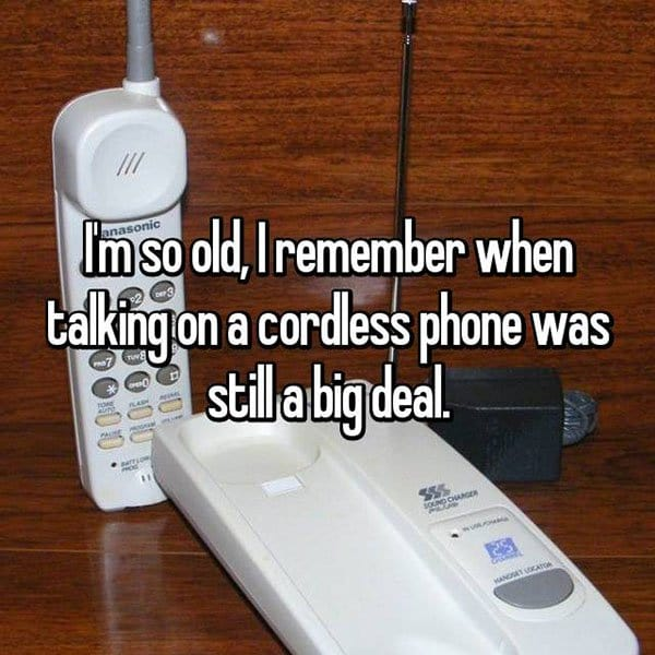 Things From The Past cordless phonee