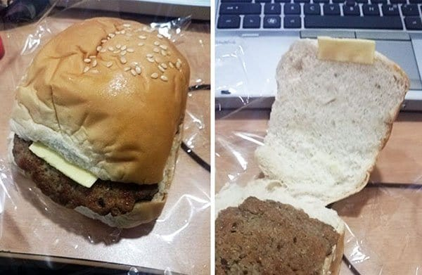 Times People Lost The Food Lottery cheeseburger from manilla