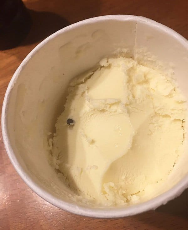 Times People Lost The Food Lottery choc chip ice cream