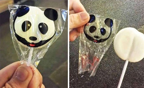Times People Lost The Food Lottery panda lolly