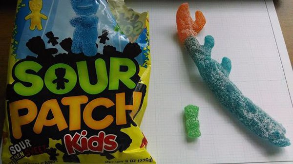 Times People Won The Food Lottery huge sour patch
