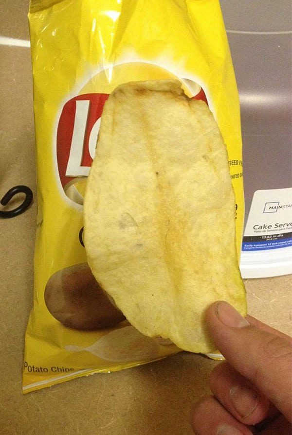 Times People Won The Food Lottery large potato chip