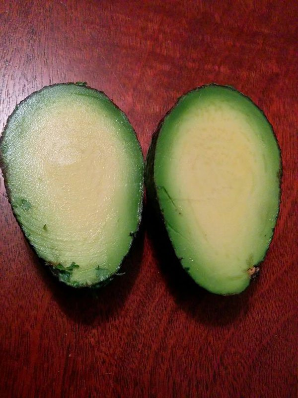 Times People Won The Food Lottery seedless avocado