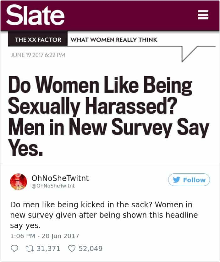 Times Women Won The Internet women like being sexually harrased