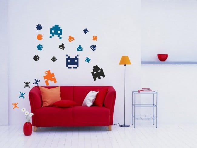 Wall Art Ideas pixels