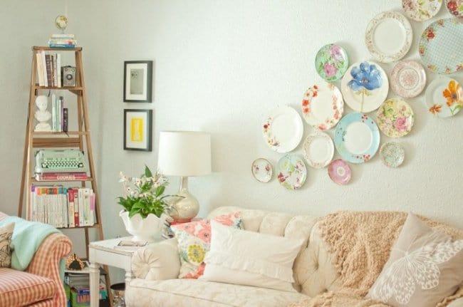 Wall Art Ideas plates