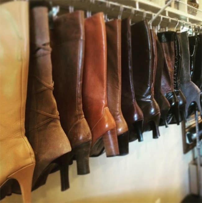 Ways To Store Your Shoes boot hanger