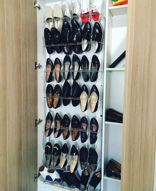 Ways To Store Your Shoes built in cabinet