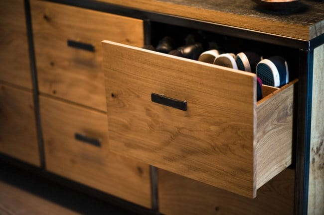 Ways To Store Your Shoes drawers