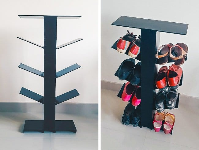 Ways To Store Your Shoes tree rack