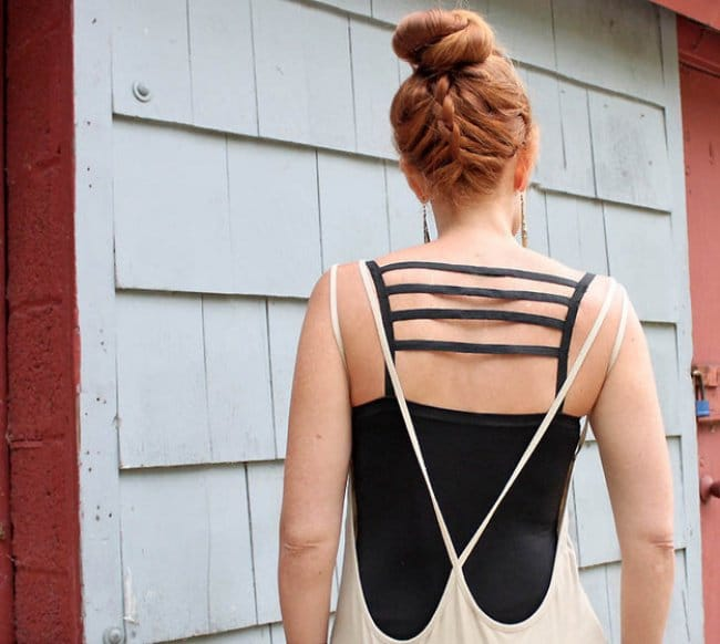 Ways To Transform An Old T-shirt stripes