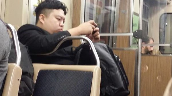 Weirdest People Ever Spotted On The Subway kim jong un