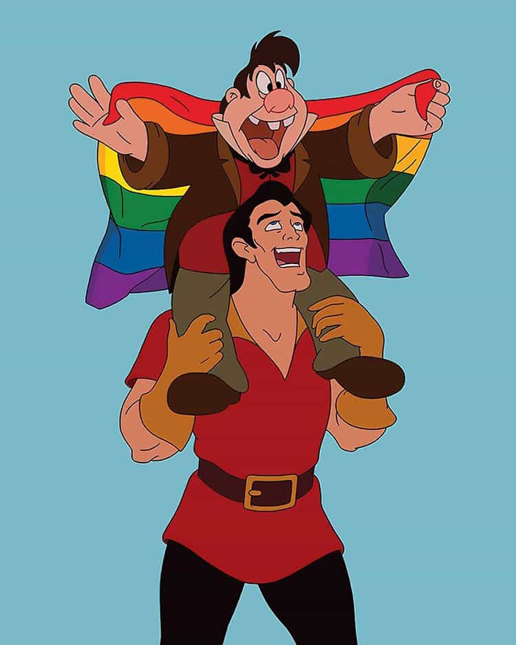 What Disney Movies Would Be Like In 2017 gay pride