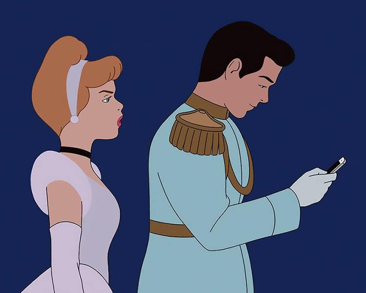 What Disney Movies Would Be Like In 2017 get off your phone