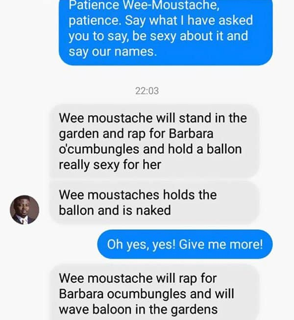 Woman Shuts Down Scammer patience wee moustache