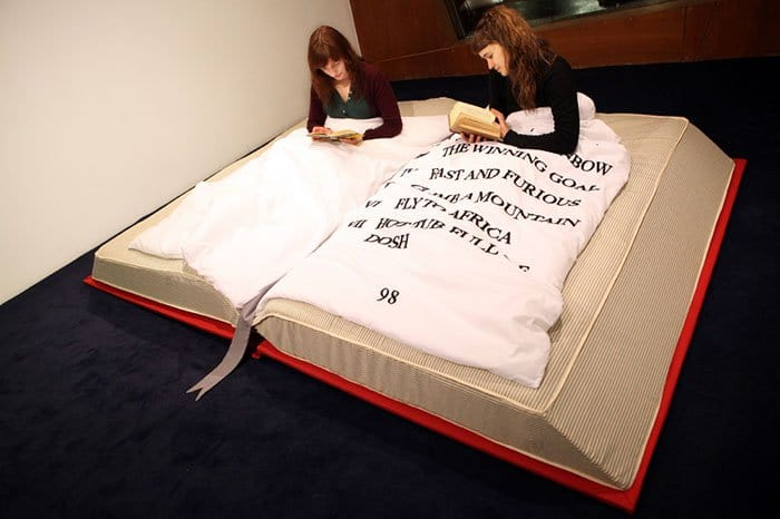 Creative And Comfy Looking Beds book bed