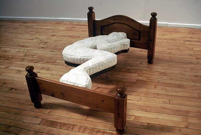 Creative And Comfy Looking Beds foetal posistion bed