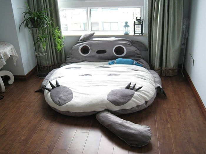 Creative And Comfy Looking Beds totoro