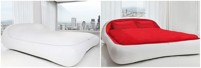 Creative And Comfy Looking Beds zip bed