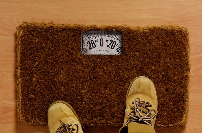 Creative And Hilarious Doormats weight scales